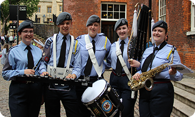 Air Cadets Music Opportunities