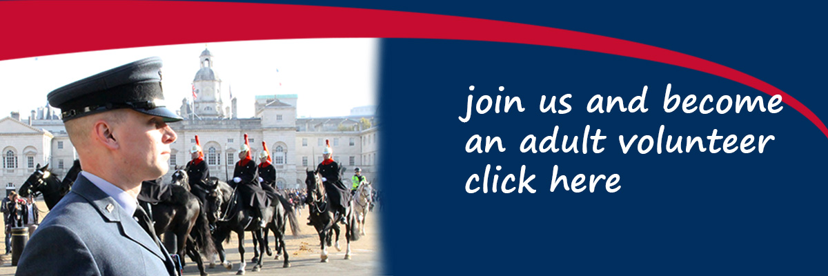 Join us and become an RAF Air Cadets adult volunteer - click here