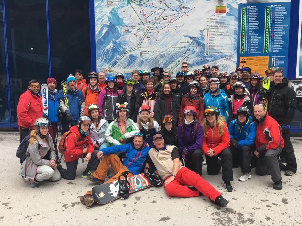 LASER skiing