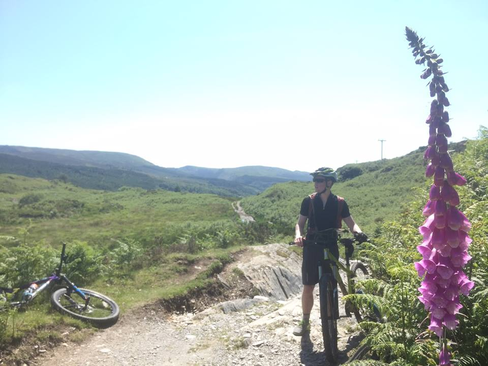 Sgt Wilson and mountain bike